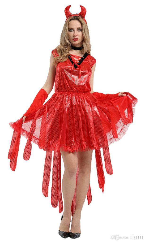 Shiny Devil Costume