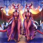 Succubus Twins by Qoppa