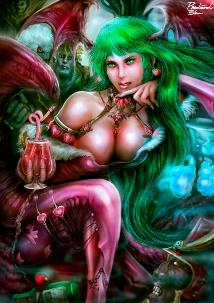 morrigan by phantasmalblue