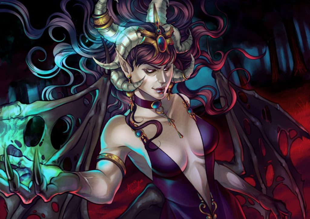 Succubus Queen by Leto4rt