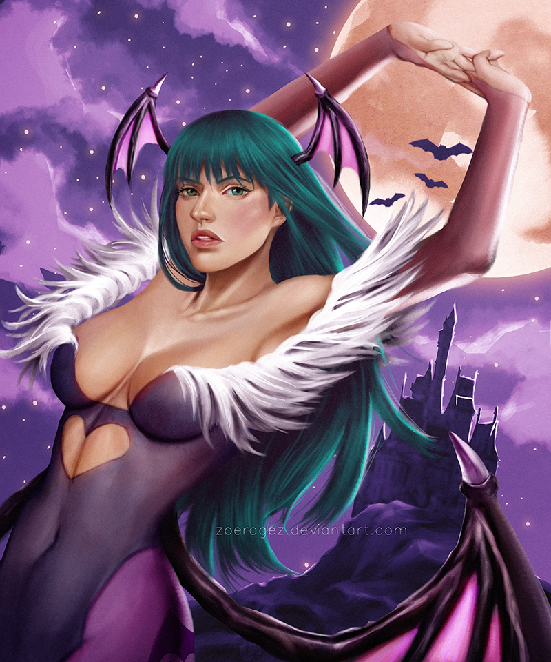Morrigan Aensland by zoeragez