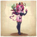 Burlesque Succubus by KimiSz