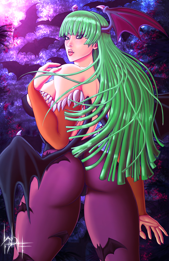 Morrigan Aensland by SirWolfgang