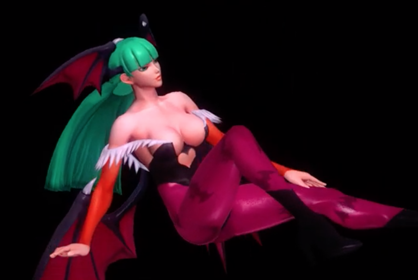 Morrigan Aensland Pole Dancing
