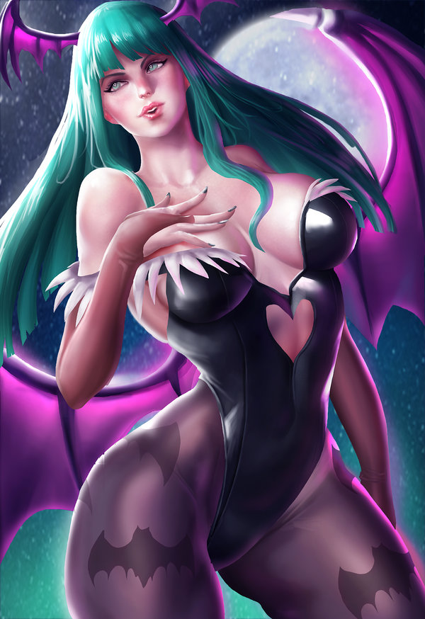 Morrigan Aensland by Galakushi