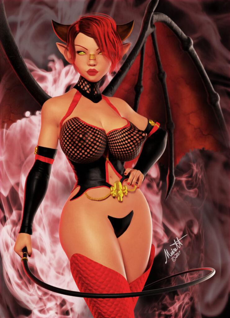 Queen of Lust - Project Lust Antihero by larsmidnatt
