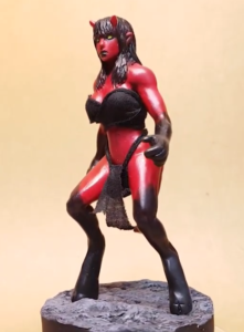 Succubus Figurine Sculpt by GX ACTOR