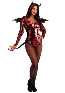 Sequined Devil Costume