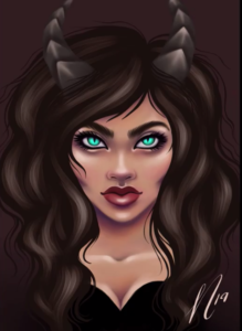 Succubus by Art By Nanna