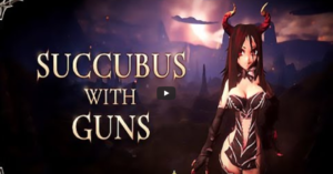 Succubus with Guns Gameplay Screenshot by Heuster 101