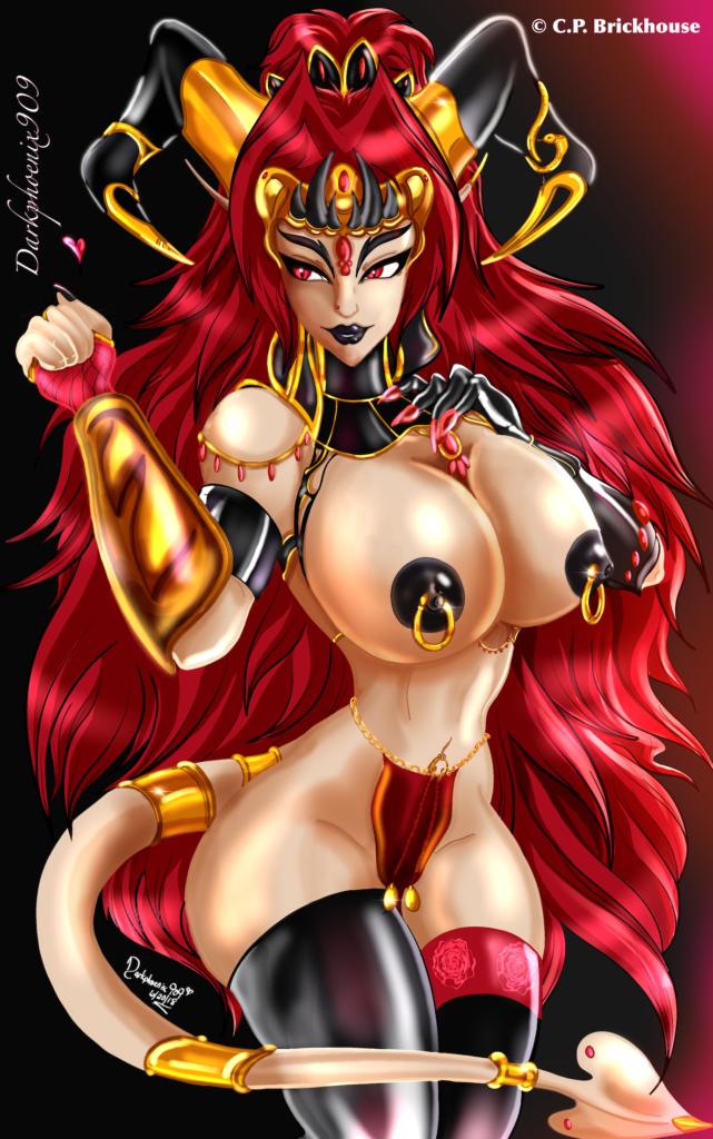 Infernal Temptress (Mature 18+) by Darkphoenix909