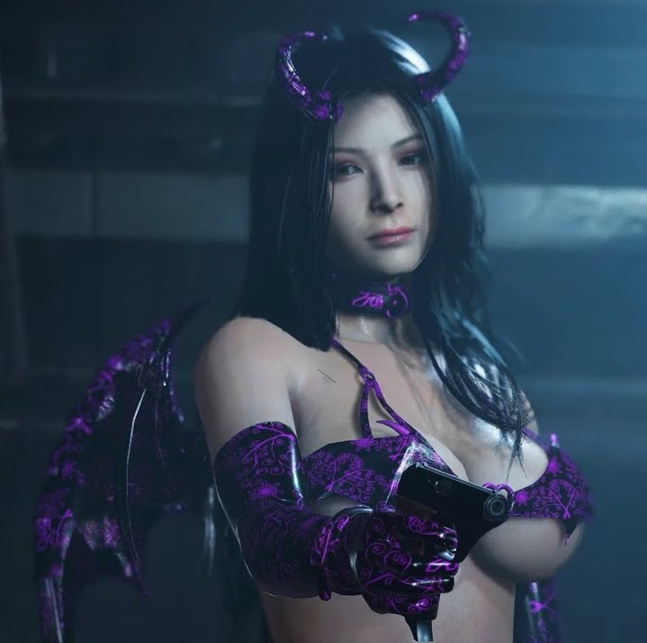 Resident Evil 2 Ada in Super Succubus Outfit GamePlay