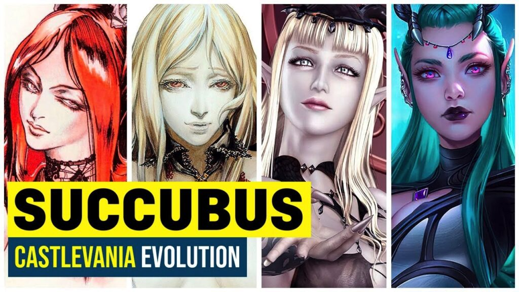 The Evolution of Succubus in Castlevania Games - Bis & Beats